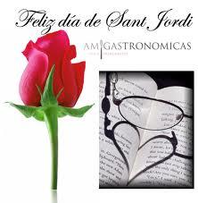 La Saint Georges et la tradition du livre et de la rose.
