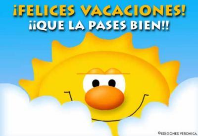 !! Felices Vacaciones !!